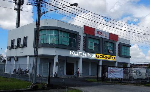 Poslaju Kuching Jalan Song